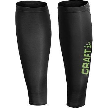 Návleky Craft COOL Body Control - návleky na nohy černá se zelenou