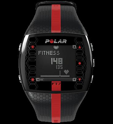 Polar FT7 černo-červený pánský