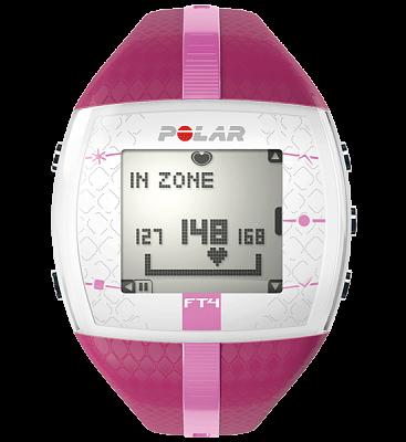 Sporttester Polar FT4 purpuro-růžový dámský
