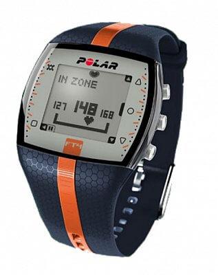 Sporttester Polar FT4 modro-oranžový pánský