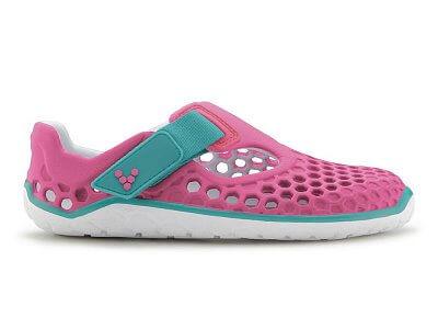 Dětská sportovní obuv VIVOBAREFOOT ULTRA K EVA Pink/Teal