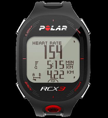 Sporttester Polar RCX3 černý pánský