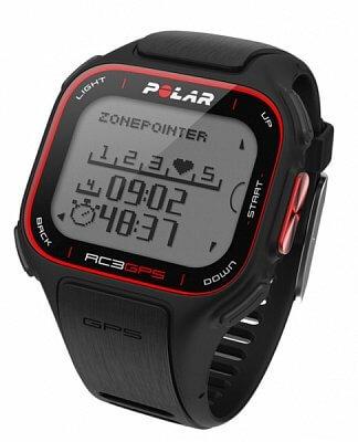 Sporttester Polar RC3 GPS černý