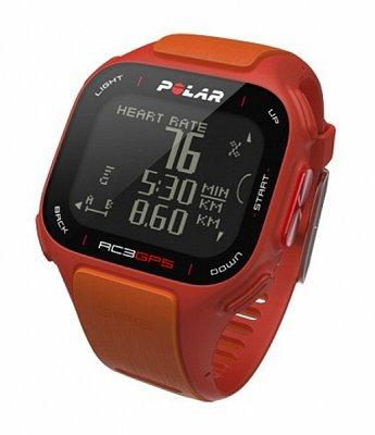 Sporttester Polar RC3 GPS oranžový