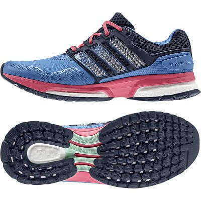 Dámské běžecké boty adidas response boost 2 techfit w