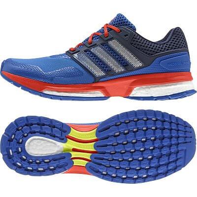 Pánské běžecké boty adidas response boost 2 techfit m