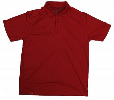 Pánské tričko Oliver Bamboo červené