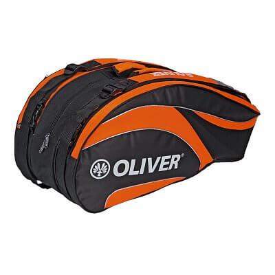 Sportovní taška Oliver TRIPLEBAG černo-oranžová