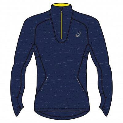 Pánské běžecké tričko Asics LS Jersey 1/2 Zip
