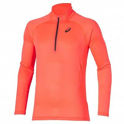 Pánské běžecké tričko Asics LS 1/2 Zip Top