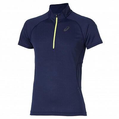 Pánské běžecké tričko Asics SS 1/2 Zip Top
