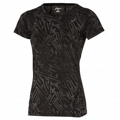 Dámské běžecké tričko Asics Allover Graphic Top SS