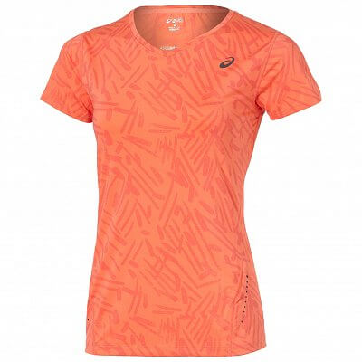 Asics Allover Graphic Top SS
