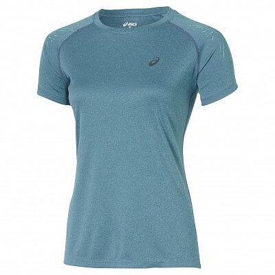 Dámské běžecké tričko Asics Asics Stripe Top SS