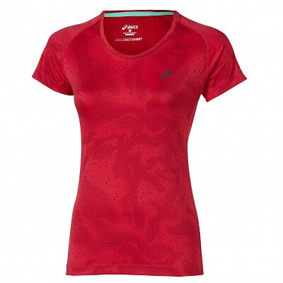 Dámské běžecké tričko Asics Fujitrail Graphic SS