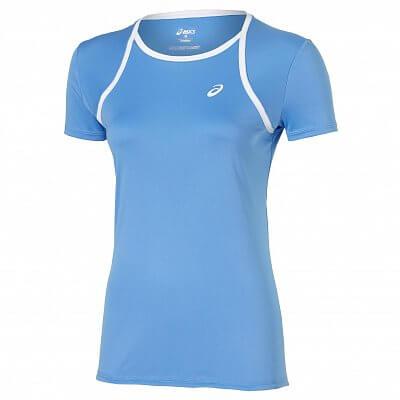 Dámské tenisové tričko Asics Club Short Sleeve Top