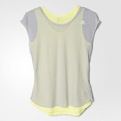 Dámské běžecké tričko adidas Run SS Laye Tee