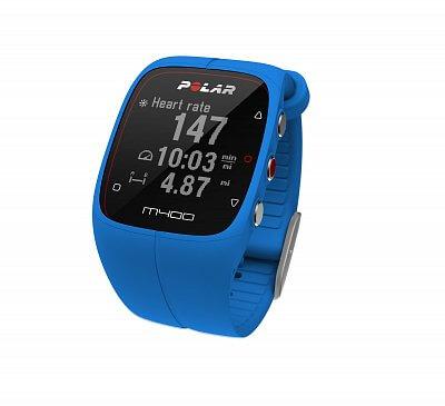 Sporttester Polar M400 HR modrý