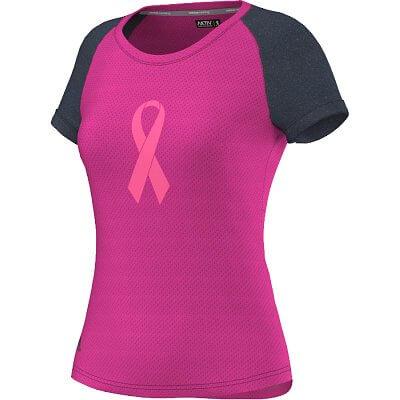 Dámské běžecké tričko adidas Aktiv Pink Ribbon Tee