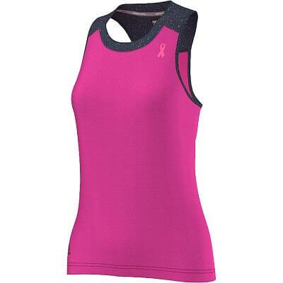 Dámské běžecké tílko adidas Aktiv Pink Ribbon Tank