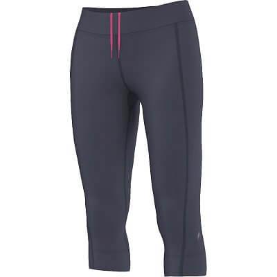 Dámské běžecké kalhoty adidas Aktiv Pink Ribbon Three Quarter Tights