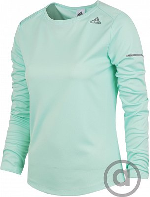 Dámské běžecké tričko adidas SQ CC Run LS Tee W