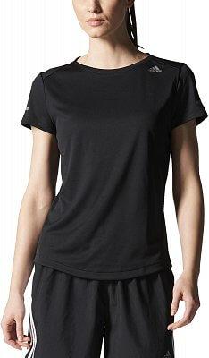 Dámské běžecké tričko adidas SQ CC Run SS T W