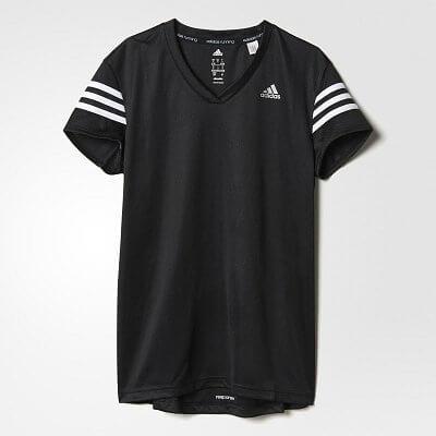 Dámské běžecké tričko adidas Response Cap Sleeve Tee W