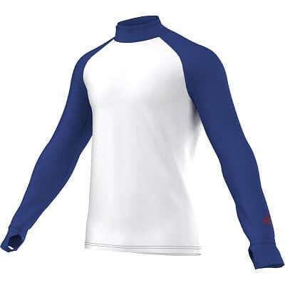 Pánské běžecké tričko adidas Aktiv Longsleeve Mock