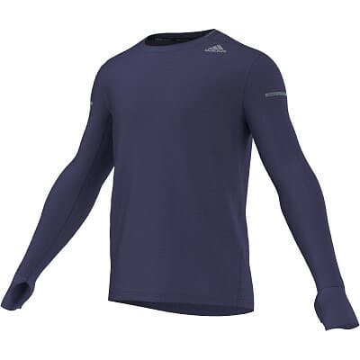 Pánské běžecké tričko adidas Go-To Gear Longsleeve Tee M