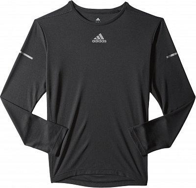 Pánské běžecké tričko adidas SQ CC Run LS T M
