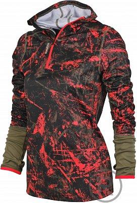 Dámská běžecká mikina Reebok Running Essentials LS 1/4 Zip Box Fleece