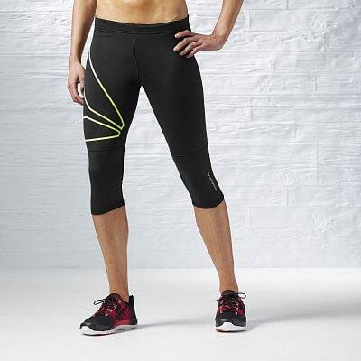 Dámské běžecké kalhoty Reebok One Series Running Capri