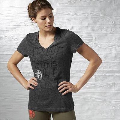 Dámské běžecké tričko Reebok Spartan Race Tri-blend SS Tee 1