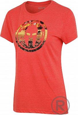 Dámské běžecké tričko Reebok Spartan Race Tri-blend SS Tee 2