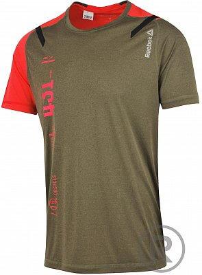 Pánské bežecké tričko Reebok Spartan Stealth SS Tee