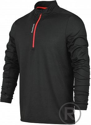 Pánské bežecké tričko Reebok Running Essentials LS 1/4 Zip