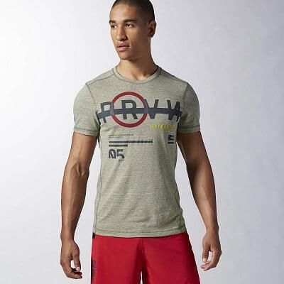 Pánské fitness tričko Reebok RCF SS Triblend GRAP2