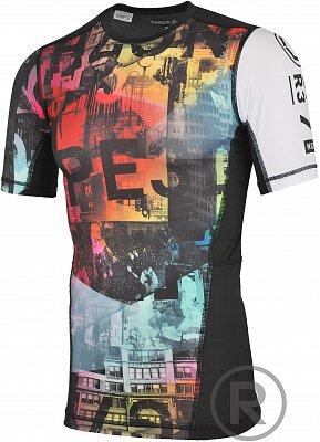 Pánské kompresní tričko Reebok One Series Fe26 Rush SS Compression A