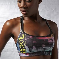 Reebok One Series Chaos Short Bra