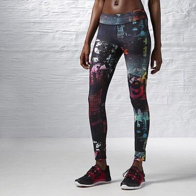 Dámské fitness legíny Reebok One Series Chaos Advantage Nylux Legging F