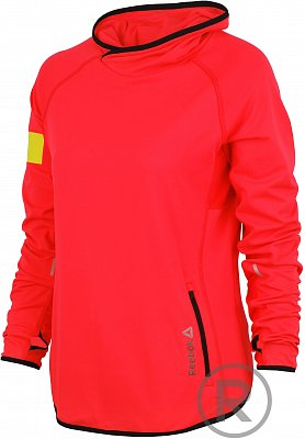 Dámská fitness mikina Reebok One Series Advantage Bioknit Cowl Neck