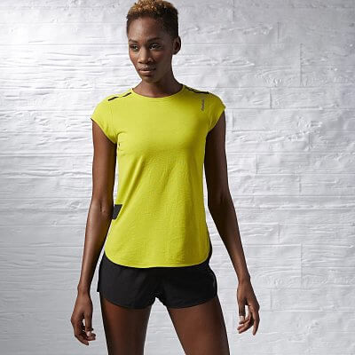 Dámské fitness tričko Reebok One Series Quik Cotton SS Tee