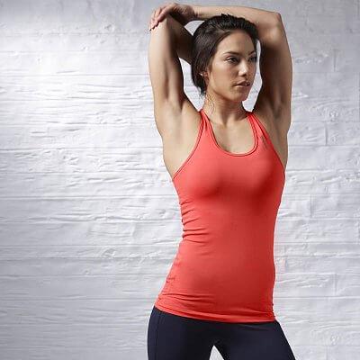 Dámské fitness tílko Reebok Sport Essentials Fitted Tank