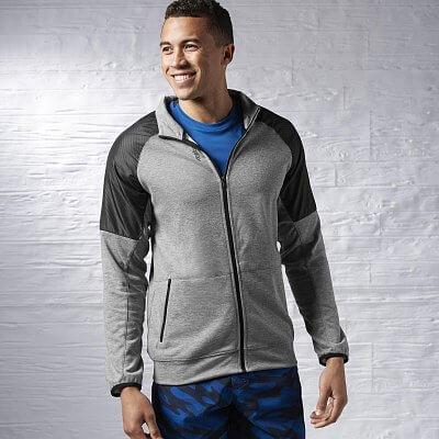 Reebok Sport Essentials Fabric Mix Track Jacket