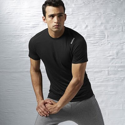 Pánské fitness tričko Reebok Workout Ready Supremium Tee