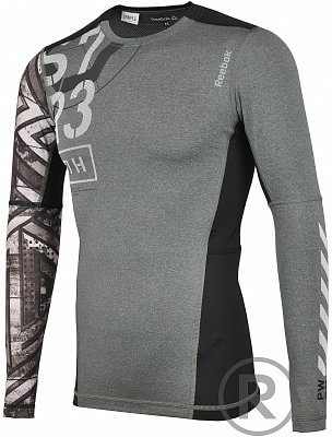 Reebok One Series Fe26 Rush LS Compression Top