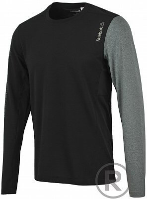 Pánské fitness tričko Reebok One Series PlayIce Long Sleeve Power Top