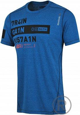 Pánské fitness tričko Reebok One Series Train.Gain Triblend SS Top