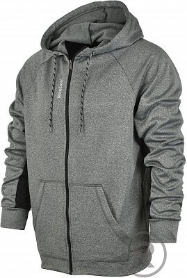 Pánská fitness mikina Reebok Workout Ready Poly Fleece Full Zip